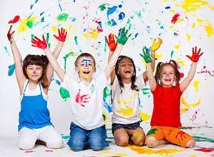 Выбра цвета для детского постельного белья