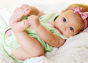 Для новорожденных можно заказать комплект