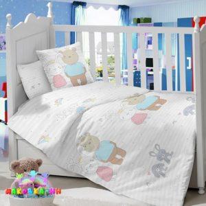Постельноедля новорожденных детскую в кроватку«Королевская семья»