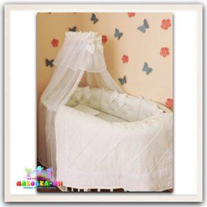 """Комплект в кроватку для новорожденных серии """"Нежность"""""""