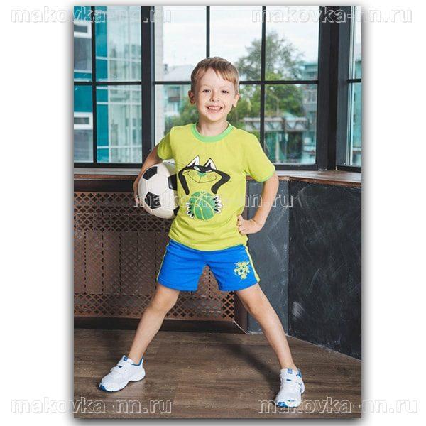 """Футболка для мальчиков """"Кот"""""""