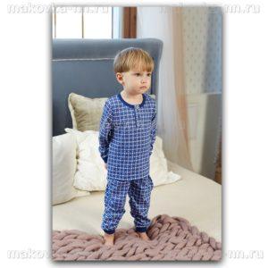 """Пижама для мальчика """"Лондон"""" с длинным рукавом"""
