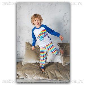 """Пижама для мальчика """"Штурман"""" с длинным рукавом"""