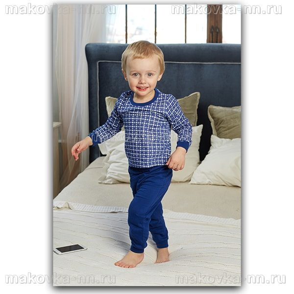"""Пижама для мальчика """"Сон"""" с длинным рукавом"""
