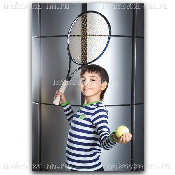"""Футболка для мальчиков """"Теннис"""""""