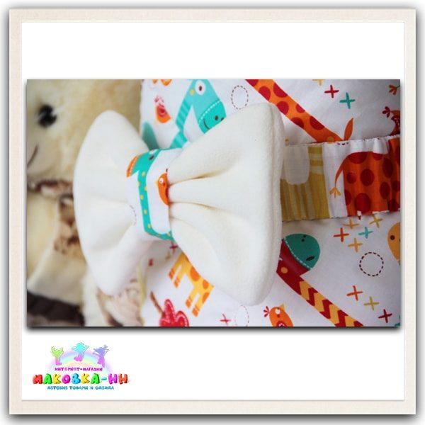 """Летний конверт-одеялона выписку """"Жирафик"""""""