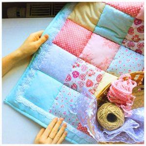 Как сшить конверт одеяло на выписку своими руками в стиле пэчворк