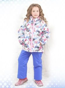 Зимняя детская одежда из мембраны - какой должен быть утеплитель