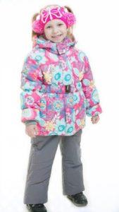 Зимняя детская одежда из мембраны -пропитка верхнего слоя и тефлон