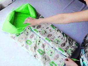 Конверт одеяло на выписку своими руками - дизайны