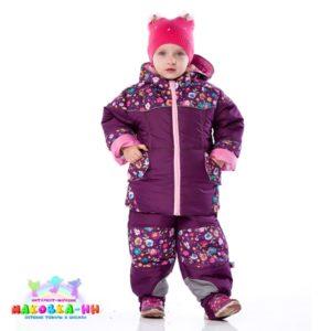 """Комплект для девочкивесна-зима-осень """"Лулу"""" 4 в 1: цвет бордо"""