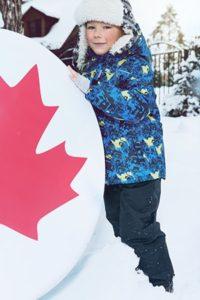 Зимняя детская одежда из мембраны - практичность и износостойкость.