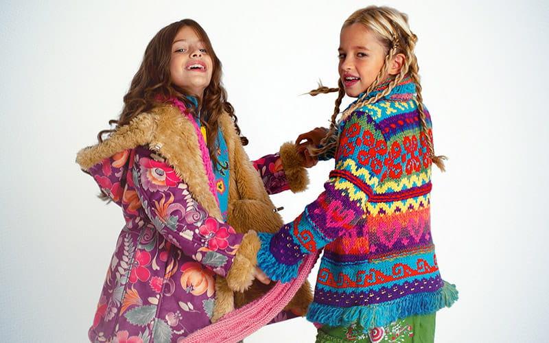 Разноцветная детская одежда