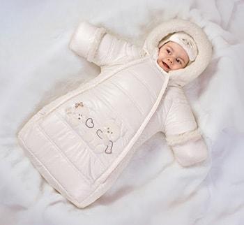 Конверт комбинезон для новорожденных