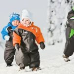 Зимняя детская одежда из мембраны