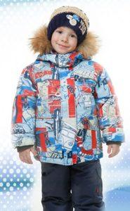 Верхняя детская одежда из мембраны четырехслойная