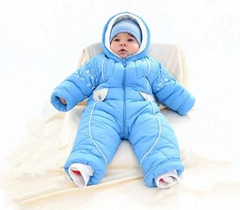 Комбинезон трансформер для новорожденных зимние модели