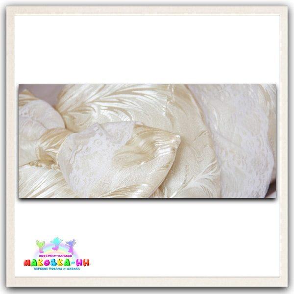 """Зимний конверт-одеялона выписку """"Праздник"""" цвета шампань"""