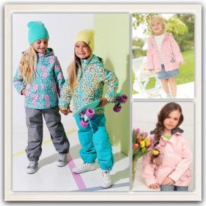 Одежда для девочек весна-осень