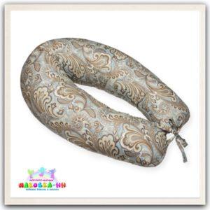 """Подушка для беременных """"Цветочный орнамент"""" из хлопка"""