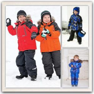 Зимняя одежда для мальчиков