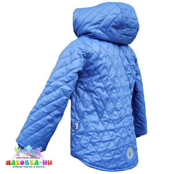 """Куртка для мальчика """"Диско"""" голубого цвета"""