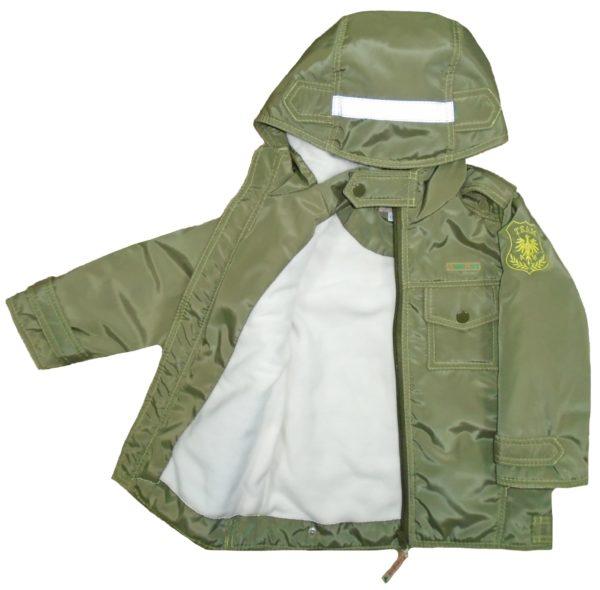 """Куртка для мальчика """"Наследник"""" цвет хаки"""