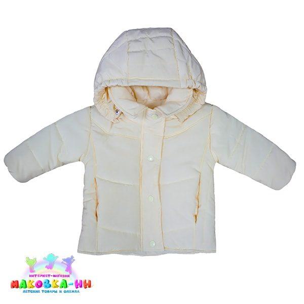 """Куртка для девочки весна-осень """"Парадиз"""" лимонного цвета"""