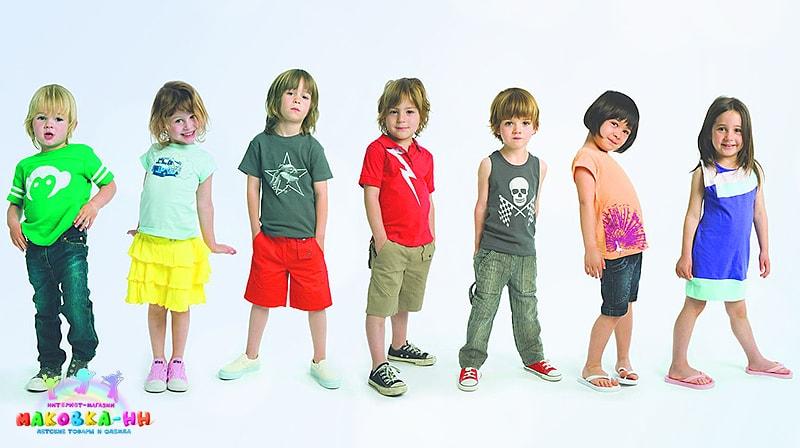 Выгодно покупаем детскую одежду в интернет-магазине Маковка-НН