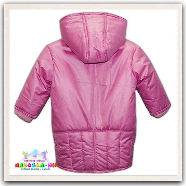 "Куртка для девочки весна-осень ""Снежка"" розового цвета"