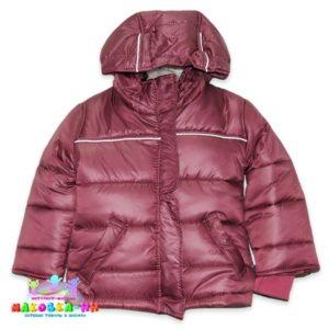 """Зимняя куртка для девочки """"Снежка"""" цвет пыльная роза"""