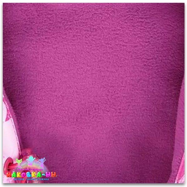 """Демисезонный комплект для девочки """"Мила"""" розовый/розовый"""