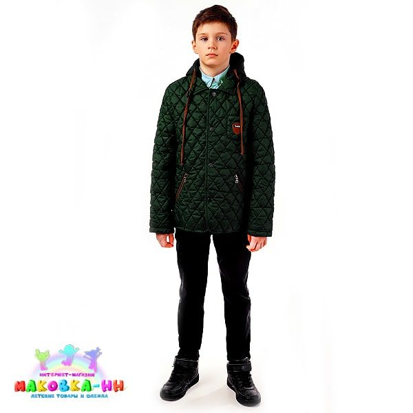 """Куртка для мальчика """"Егор"""" зеленый"""