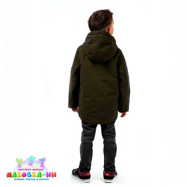 """Куртка для мальчикавесна/осень""""Лев"""" хаки"""