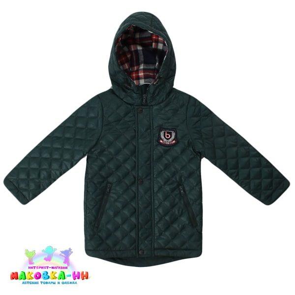 """Куртка для мальчика """"Билли"""" весна/осень цвет зеленый"""