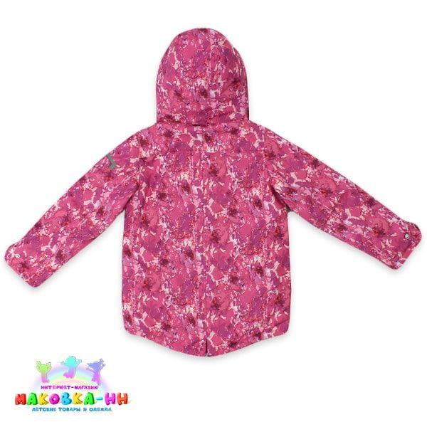 """Парка для девочки весна-осень """"Джесс"""" розовый"""