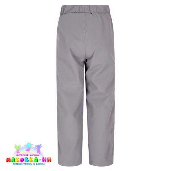 """Демисезонные брюки для девочки """"Слава"""": цвет серый"""