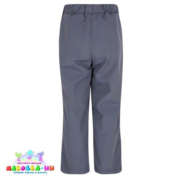 """Демисезонные брюки для мальчика """"Слава"""": цвет графит"""