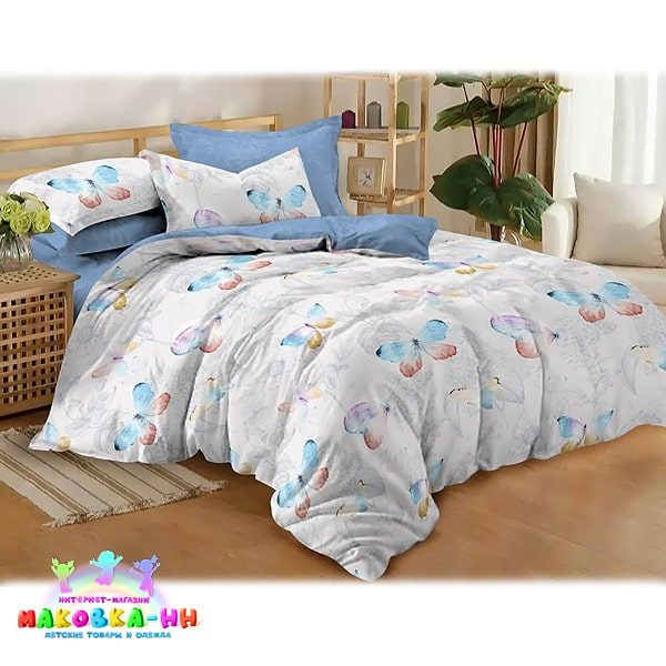 """Детское постельное белье для девочки""""Очертание"""""""